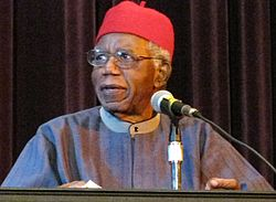 "Chinua Achebe, Author of ""Things Fall Apart"""