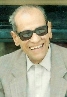 Nobel Prize Winning Author Naguib Mahfouz of Egypt