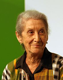 Nobel Prize Winning Author Nadine Gordimer of South Africa