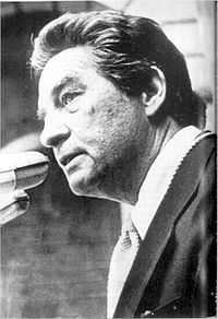 Nobel Prize Winning Mexican Author Octavio Paz