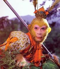 The Monkey King Sun Wukong from the Journey to the West