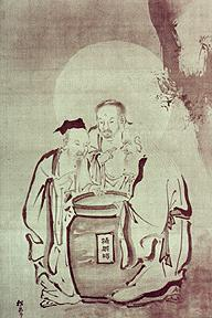 The Parable of the Three Vinegar Tasters---Confucius, Buddha and Lao Zi