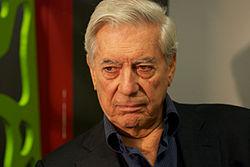 Nobel Prize Laureate Mario Vargas Llosa