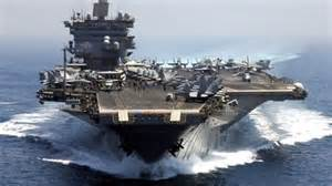 American Aircraft Carrier Readies for Action