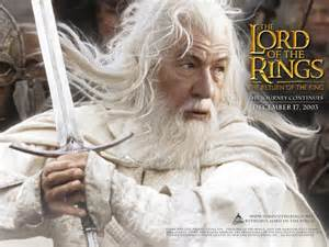 The Wizard Gandalf from Tolkien's The Lord of the Rings