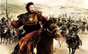 Ghengis Khan, Mongol Emperor