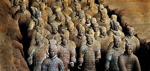 Teracotta Warriors of Emperor Qin Shi Huangdi, First Emperor of China