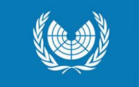 "The Proposed Logo of the United Nations Parliamentary Assembly featuring the ""benches"" at which the elected representatives would sit."