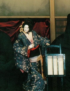 Japanese Bunraku Theater Puppet