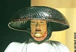 Masked Actor in Japanese Noh Drama