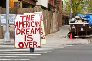 Death of the American Dream?