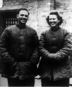 David & Isabel Crook 1947---Amoung the First Foreign Experts in China