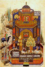 Ibn Battuta in Tabriz, Mongolian Persia