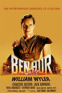 Charton Heston as Ben Hur in the Movie from the Bestseller by Lew Wallace