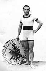 Alfréd Hajós is one of only two Olympians to have won Olympic Medals in both Olympic Sport  and Olympic Art competitions