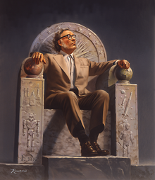 Isaac Asimov on His Science Fiction Throne of Honor