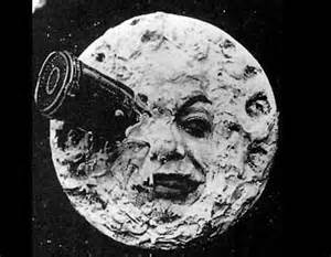 Melies Film based on Jules Verne's From the Earth to the Moon