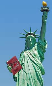 Statue of Liberty With Book