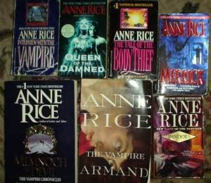 The Erotic Gothic Bestsellers of Anne Rice