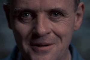 Anthony Hopkins as Hannibal Lecter in Hannibal and The Silence of the Lambs