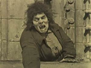 Lon Chaney as The Hunchback of Notre Dame from Victor Hugo's Classic