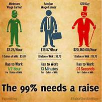 The 99% Needs A Raise!