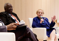 Former US Secretary of State Madeline Albright and former Nigerian Foreign Minister Ibrahim Gambari, Co-Chairs of the UN Commission Endorse Creation of a New UN Parliamentary Network