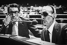 Boutros Boutros-Ghali and Moshe Dayan Before the UN Security Council on Behalf of Peace Accords